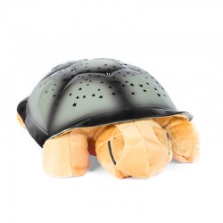 magická svítící želvička hnědá